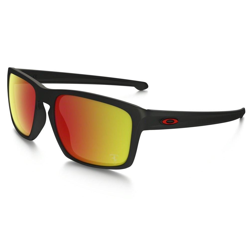 Oakley SLIVER Scuderia Ferrari-Kollektion Sonnenbrille Matte Black / Ruby  Irridium