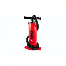 Best Aluschaft Kite Pumpe PUMP Red