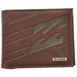 Billabong Junction Wallet Geldbörse Chocolate
