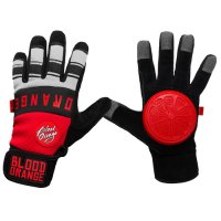 Blood Orange THE KNUCKLES Slide Gloves Grey
