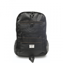 Captain Fin Rucksack Pack Mule Zip Top Bag Black