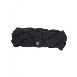 Cleptomanicx Headband LOUIE Black