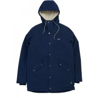 Cleptomanicx Larum gefütterte Winterjacke Dark Navy