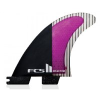 FCS 2 Reactor PC Carbon Tri Fin Set (L)