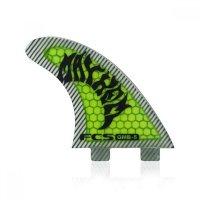 FCS GMB-5 MAYHEM PC Tri Fin Set (L) Green