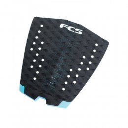 FCS Tail Pad T-1 Surf Traction Black Teal