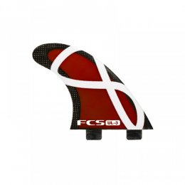 FCS UL-3 RED Tri Fin Set (S)