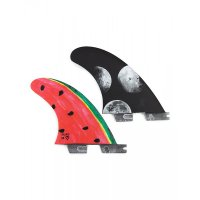 Gorilla FCS 2 Tri-Quad Fin Set Moon Beams & Mellon (M)