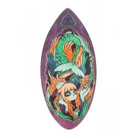 HW-Shapes Art Series Hybridskim NIXE Skimboard