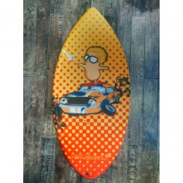 HW-Shapes Hybridskim DREAMER Skimboard READY TO GO