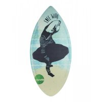 HW-Shapes Hybridskim FREE WILLY Skimboard READY TO GO