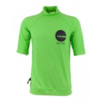 HW-Shapes TEAM Lycra Shortarm Turtleneck Flo Green