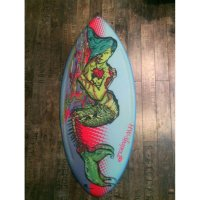 HW-Shapes Waveskim SICK MARMAID Skimboard READY TO GO