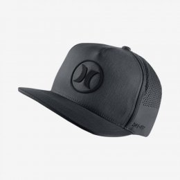 Hurley Dri Fit Icon 2.0 Snap Back Cap Grey