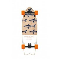 Long Island Retro Fish Surfskate Komplettboard