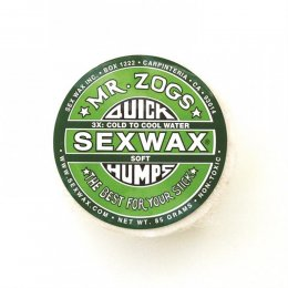 Mr. Zogs SEX WAX QUICK HUMPS 3X Cool to mid warm  (Soft)
