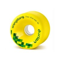 Orangatang DURIAN (4er Set) 75mm/86a Yellow