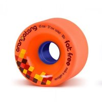Orangatang FAT FREE (4er Set) 65mm/80a Orange