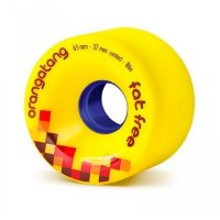 Orangatang FAT FREE (4er Set) 65mm/86a Yellow