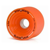 Orangatang IN HEAT (4er Set) 75mm/80a Orange