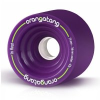 Orangatang IN HEAT (4er Set) 75mm/83a Purple