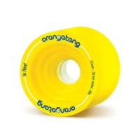 Orangatang IN HEAT (4er Set) 75mm/86a Yellow