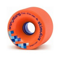 Orangatang STIMULUS (4er Set) 70mm/80a Orange