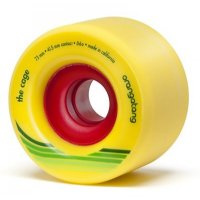 Orangatang THE CAGE (4er Set) 72mm/86a Yellow