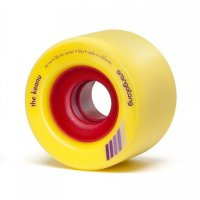 Orangatang THE KEANU (4er Set) 66mm/86a Yellow