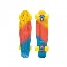 "Penny Painted Series 22"" Skateboard CANARY Fade"