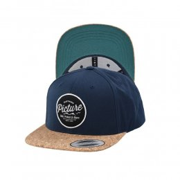 Picture Powell Kork Cap Snap Back Dark Blue