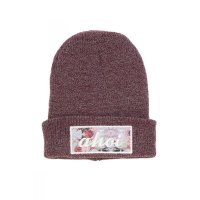 Shisha Beanie SLURVOSS Dark Red/Rose