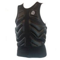 Soöruz Wake Vest Zip VESZCAL Black
