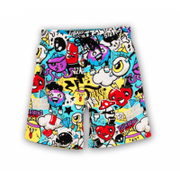 Sun Project Kids Boardshort WILD COMIC