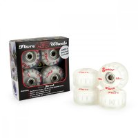 Sunset FLARE LED Street WHEELS (4er Set) 54mm/ 90a Rot