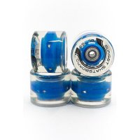 Sunset FLARE LED Street WHEELS (4er Set) 59mm/ 78a Blau