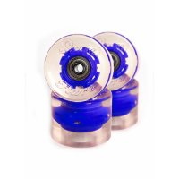 Sunset FLARE LED WHEELS (4er Set) 65mm/ 78a Blau
