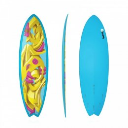 Surfboard TORQ Epoxy TET 5.11 Fish Crowns LTD