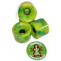 Tunnel Wheels TARANTULA (4er Set) 70mm/76a Green Yellow