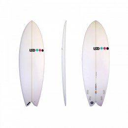 Surfboard LSD - Flashback 5.11 XF Retro Quad