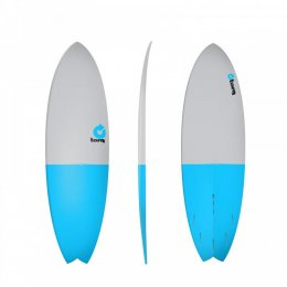 Surfboard TORQ Epoxy TET 5.11 Fish FiftyFifty