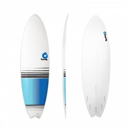 Surfboard TORQ Epoxy TET 6.3 Fish  Fade