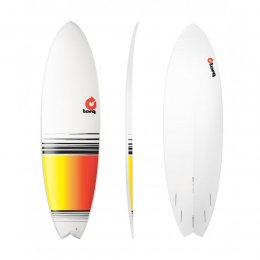 Surfboard TORQ Epoxy TET 6.6 Fish  Fade
