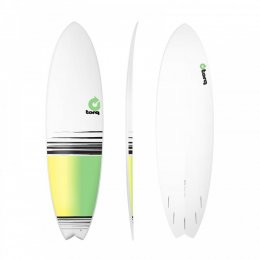 Surfboard TORQ Epoxy TET 6.10 Fish Fade