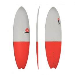 Surfboard TORQ Epoxy TET 6.10 Fish FiftyFifty