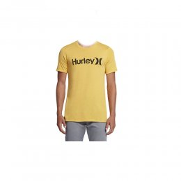 Hurley T-Shirt One & Only Push Through Mineral Gold...