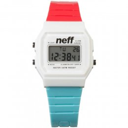 neff FLAVA Uhr Red Blue White