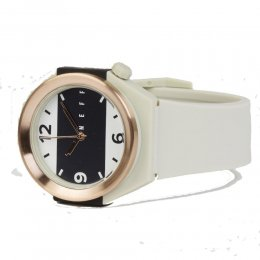 neff Stripe Watch Uhr Bone Rose Gold