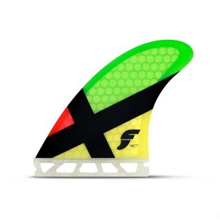 Future Fins FWCT Tri-Fin Honey Comp Rasta