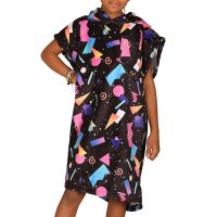After Kids Poncho Black